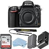 Nikon D750 FX-Format Digital SLR Body Only Camera - Bundle with 32GB Class 10 SDHC Card