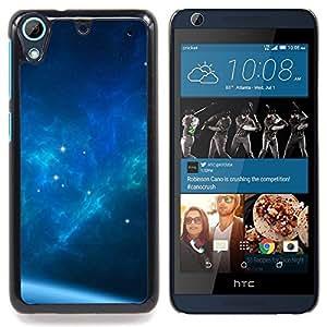 For HTC Desire 626 & 626s - The Blue Space Galaxy /Modelo de la piel protectora de la cubierta del caso/ - Super Marley Shop -