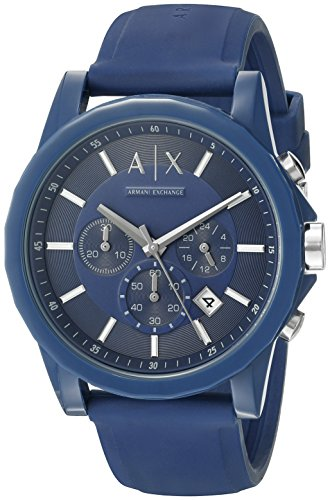 Armani Exchange AX1327 Silicone Watch product image