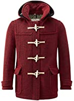 Mens Mayfair Knitted Duffle Red