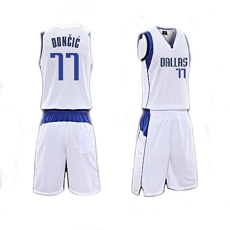 Camiseta De Baloncesto para Hombre Set Top+Shorts, Luka Doncic ...