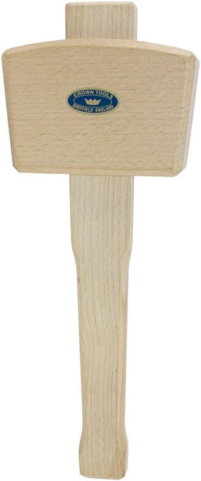 "weight 13-14 oz WOOD MALLET Medium Hardwood Round head 2 3//4/"" dia  X 4 1//4/"""
