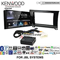 Volunteer Audio Kenwood DDX9704S Double Din Radio Install Kit with Apple Carplay Android Auto Fits 2007-2013 Toyota Tundra, 2008-2013 Sequoia with Amplified Systems (Metallic Gray)