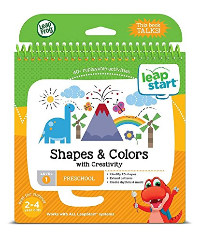 LeapFrog LeapStart Kindergarten & 1st Grade Interactive Learning System For Kids Ages 5-7 With Level 1 Preschool, Pre-Kindergarten Activity Books: Shapes, Math, Daily Routines & Alphabet Fun Bundle by LeapFrog (Image #3)
