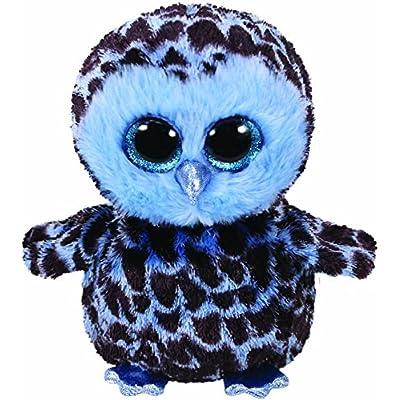 Ty Beanie Boos YAGO - owl Blue med: Toys & Games