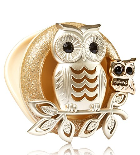 Bath & Body Works Owl Scentportable Holder with Car Visor Cl