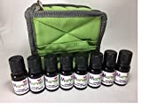Aroma Diffuser essential oil blends- Case for 16 bottles (with 8 bottles) kit- 100% pure oil