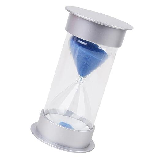 2 opinioni per 20 Minuti Timer Clessidra Coperchio Blu Argento Sabbia