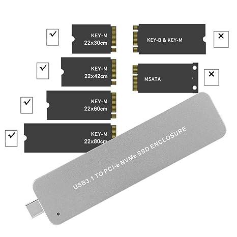 Unidad de Disco Duro de Disco Duro, telescópica Tipo C USB3.1 a ...