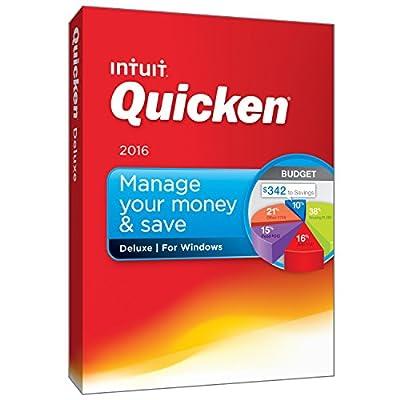Intuit Quicken Deluxe 2016