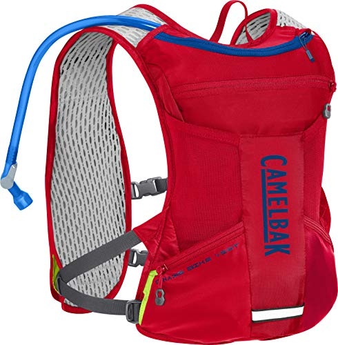 CamelBak Chase Bike Vest 50 oz, Racing Red/Pitch Blue, One Size
