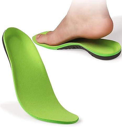 Mouwa Orthotic Arch Support Shoe, Plantillas De Soporte De Arco para Pies Planos Fascitis Plantar Mujeres Hombres Inserciones Plantillas para Pies Planos Dolor De Pies Fascitis Plantar,XS: Amazon.es: Deportes y aire libre