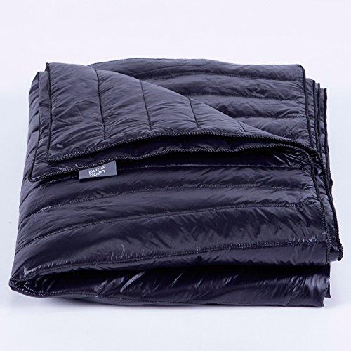 Puredown Nylon Waterproof White Goose Down Indoor/Outdoor Camping Blanket