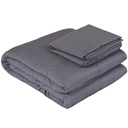 Amazon.com  Weighted Idea Weighted Blanket Set  3498b605c