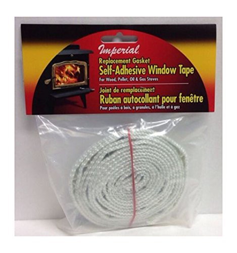 Replacement Gasket Self-adhesive Wood Firebox Stove Window Tape ♥ Most Sold Item