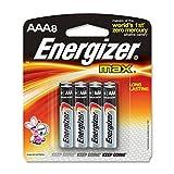 Energizer Max AA Alkaline Batteries, 8-Pack