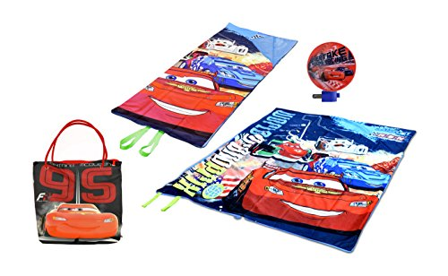 Disney Cars Mini Slumber Tote with Night Light (3 Piece) by Disney