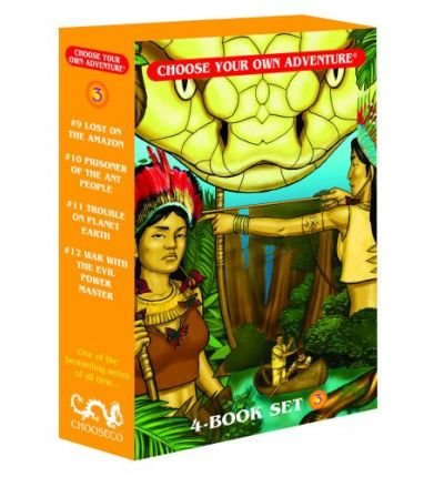 Box Set #4-3 Choose Your Own Adventure Books 9-12:: Box Set Containing: Lost on the Amazon, Prisoner of the Ant People, Trouble on Planet Earth, War with the Evil Power Master (Choose your own adventure) (Paperback) - Common pdf