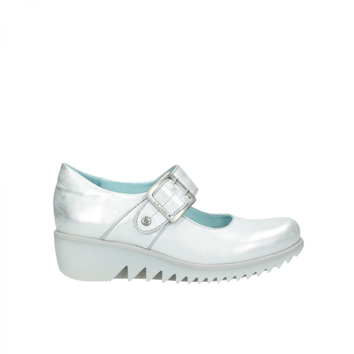 Wolky Comfort Mary Janes Silky B00WDW6RQO 42 M EU 30130 Silver Leather