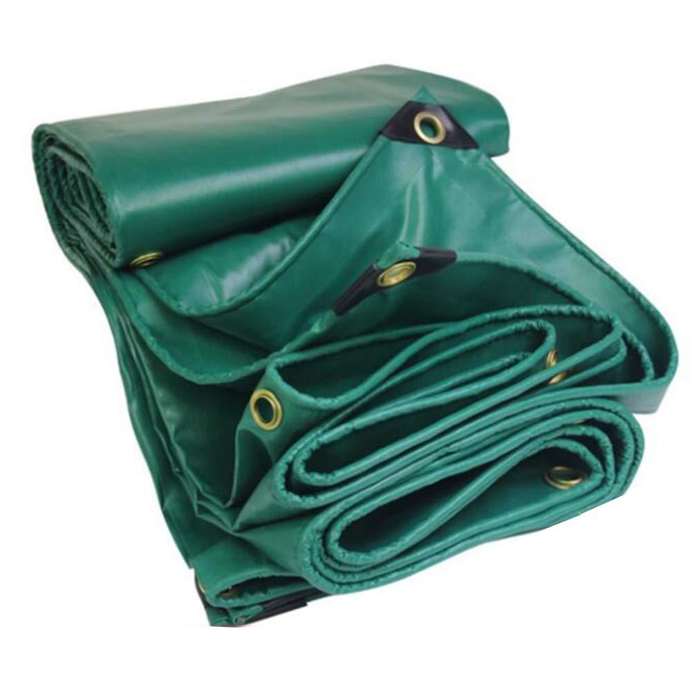MuMa Plane Verdicken Wasserdicht Regenfest Sonnencreme Abdeckung Regen Segeltuch Besonders Angefertigt (Farbe   Grün, größe   4  5M)