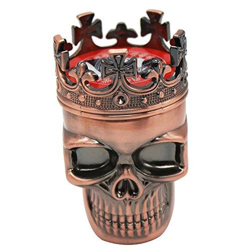pink skull grinder - 1