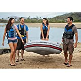 Intex Mariner 4, 4-Person Inflatable Boat Set with
