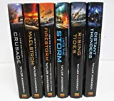 Destroyermen Series - 6 Volumes - Maelstrom, Into the Storm, Crusade, Distant Thunders, Rising Tides, Firestorm... by Taylor Anderson