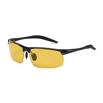 KDIAN Gafas De Sol Polarizadas para Hombres Marco De Aluminio Y Magnesio Lentes Que Cambian De