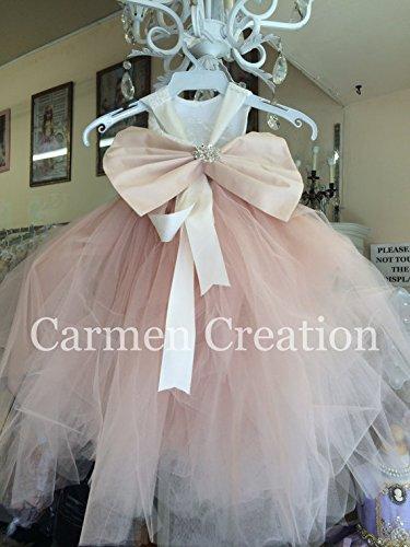 Mini Bride Flower Girl Dress 1001 by Carmen Creation