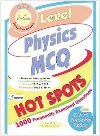 O Level Physics 1000 MCQ With Helps Redspot Publishing
