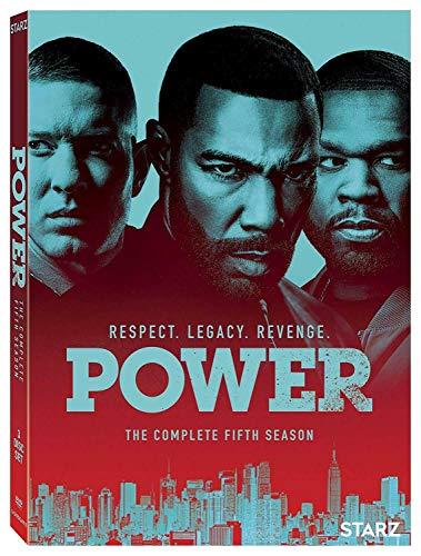 Power Season 5 DVD Complete Set (Power Starz Dvd)