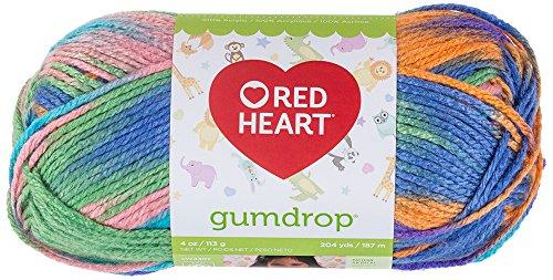 Coats Yarn Red Heart Gumdrop Yarn, Juicy by Red Heart