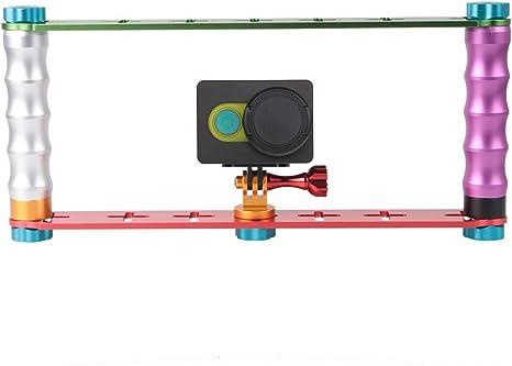 Dual Handheld Grip Aluminum Tube Stabilizer Durable