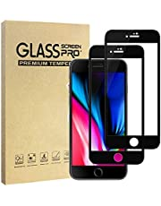 Hianjoo [2-Pack] Screen Protector Compatible with iPhone 7/8, Premium 9H Super Hardness Tempered Glass Film Screen Protector Compatible for iPhone 7/8 [Anti-Shatter][3D Touch Compatible]