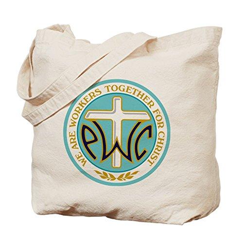 CafePress–pwoc Logo–gamuza de bolsa de lona bolsa, bolsa de la compra