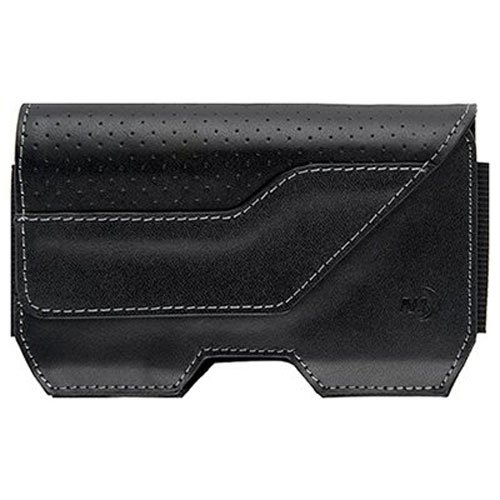 Nite Ize Clip Case Executive Holster Mobile Phone Case, Leather, Low Profile, Large - Executive Charging Station