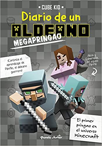 Minecraft. Diario de un aldeano megapringao: Amazon.es: Cube Kid ...