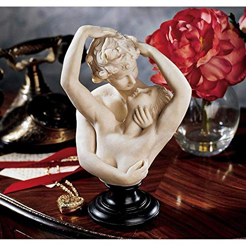Design Toscano Cupid and Psyche Bonded Marble Bust