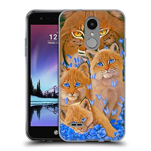 (Official Graeme Stevenson Bobcats Wildlife Soft Gel Case for LG K4 (2017) / Phoenix 3)