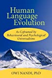 Human Language Evolution, Owi Nandi, 1462057829