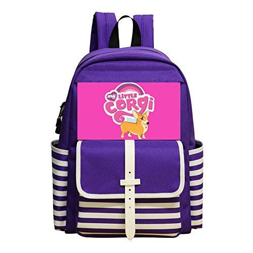 packs Daypack Shoulder Bag School Rucksack Back to School (Shih Tzu Poodle Puppies)