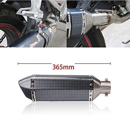 PACEWALKER NINJA 400 Z400 Exhaust Muffler Full System Header Pipe 51mm For KAWASAKI NINJA400 Ninja 400 EX400 ABS Z400 2018 2019 With Muffler Carbon Fiber Exhaust