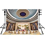 MEETS 7x5ft International Conference Hall Backdrop Luxury Decoration Photography Background Themed Party Photo Booth YouTube Backdrop NANMT966