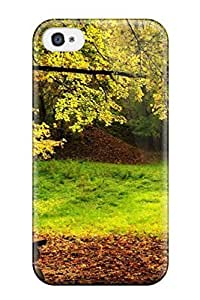 Autumn Bench Case Compatible With Iphone 4/4s/ Hot Protection Case