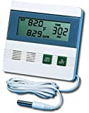 General Tools DTR900 Inside/Outside Digital Thermometer with Minimum/Maximum Memory