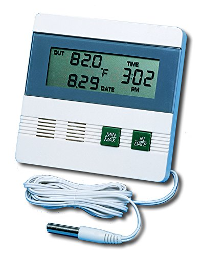 General Tools DTR900 Inside/Outside Digital Thermometer with Minimum/Maximum Memory by General Tools