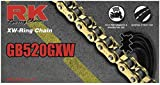 RK Racing Chain GB520GXW-140 140-Links Gold XW-Ring Chain with Connecting Link
