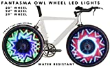 Fantasma OWL Bicycle On-Wheel Programmable LED Imaging System BK-7082 (700c~up)