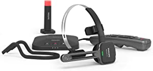 Philips SpeechOne Wireless Dictation Headset, Docking Station, Status Light and Remote Control