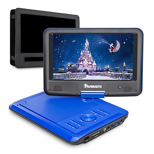Dual Screen Portable Dvd Player With Rechargeable Battery - 8